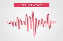 Equalizer sound wave