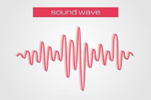 Equalizer sound wave