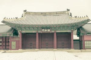 Gyeongbokgung castle,South Korean