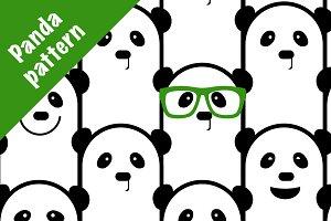 Funny Panda pattern