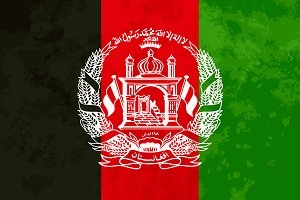 True proportions Afghanistan flag