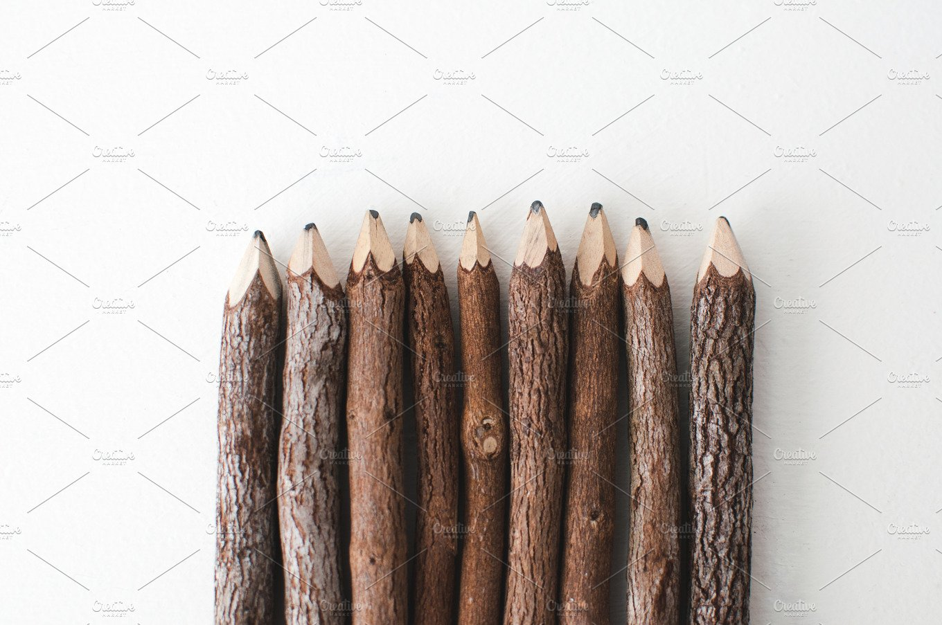 wooden pencils abstract photos creative market