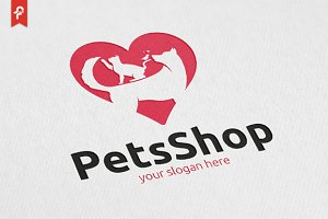 Pets Shop Logo