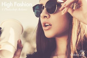 High Fashion - 4 Photoshop Actions