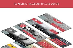 10 Abstract Timeline Cover Templates