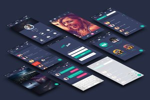 chitchat (Chatting App UI)