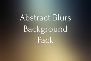 Abstract blurs background pack