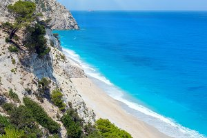 Egremni beach (Lefkada, Greece)