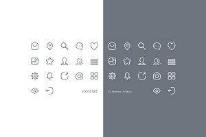 Cute icon set