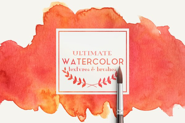 Ultimate watercolor textures