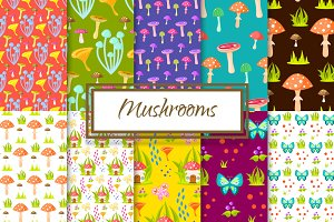 Magic Mushroom Patterns