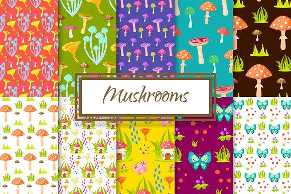 Magic Mushroom Patterns