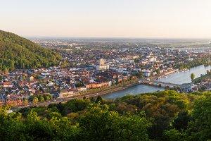 Heidelberg from above