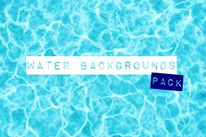 Water backgrounds pack
