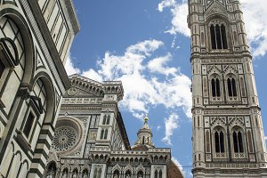Cathedral in Firenze (Vertical)