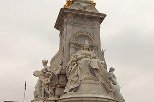 Queen Victoria Memorial in London