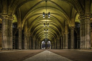 The Rijksmuseum Arches Amsterdam