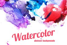3 Watercolor Backgrounds