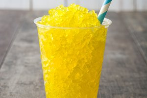 Lemon slushie