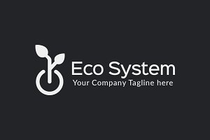 Eco System Logo Design Template