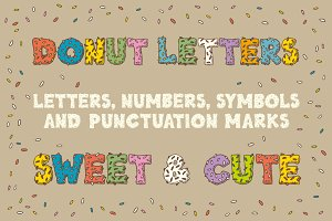 Donut  Letters