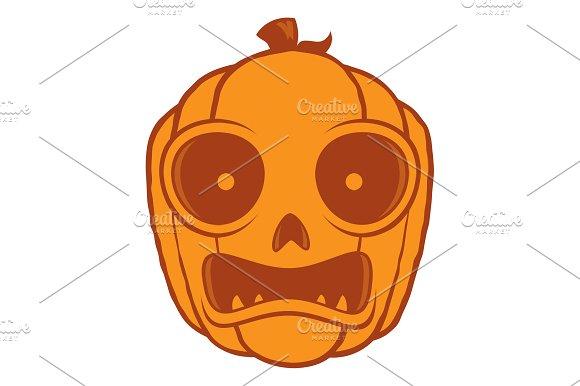 Frightened Jack O Lantern ~ Illustrations ~ Creative Market