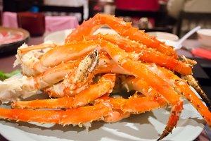 Giant Crab from Hokkaido, Japan