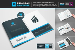 Clean Brochure Template 18