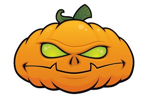Mean Pumpkin