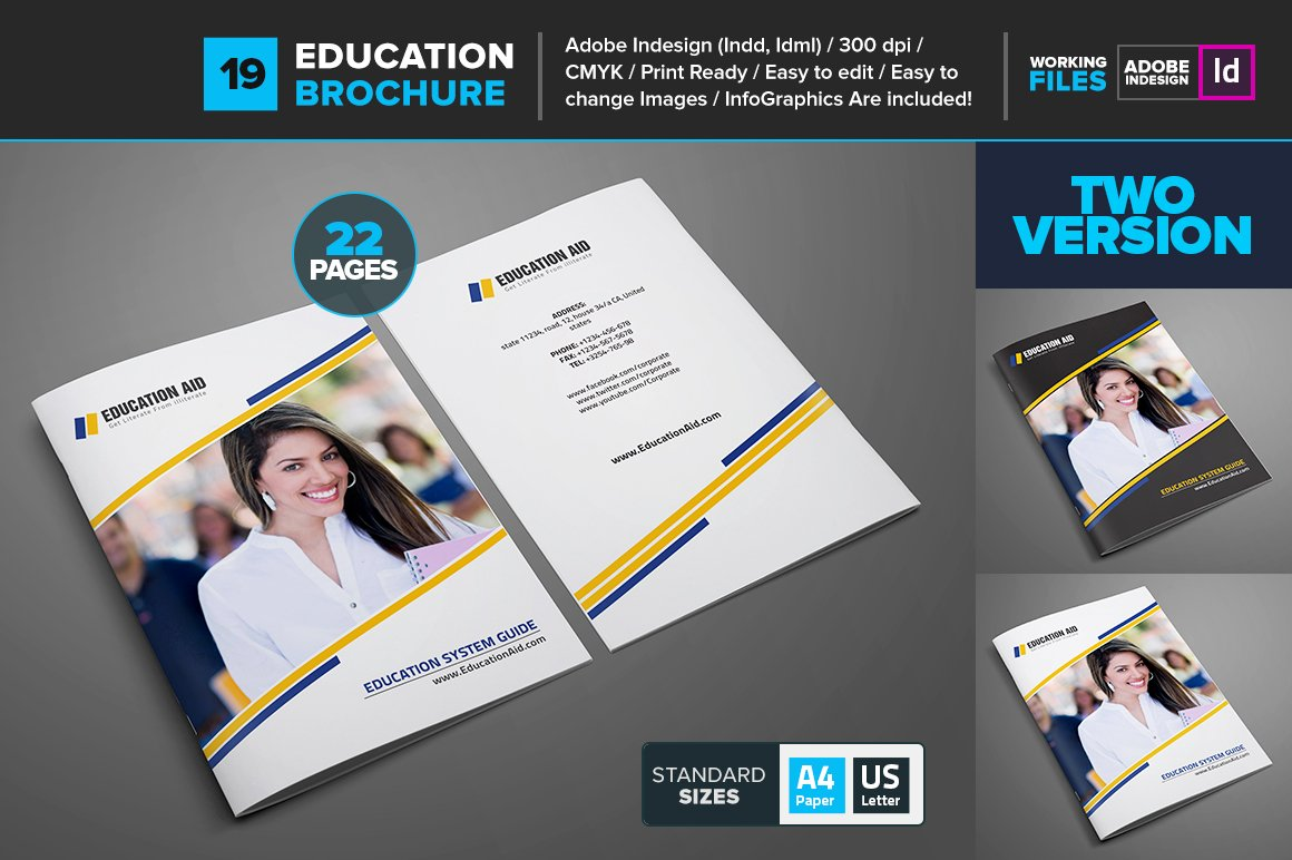 brochure design templates for education - educational brochure template 19 brochure templates