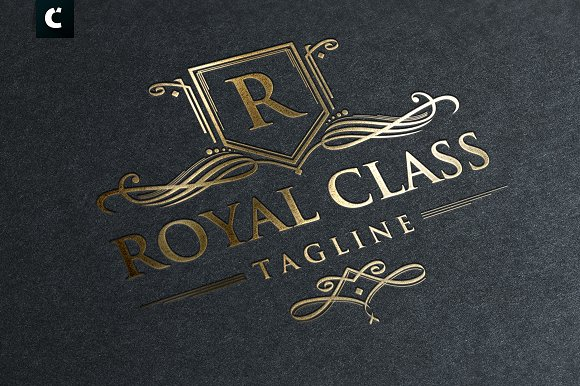 ROYAL CLASS Logo Template