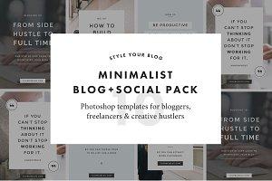 Minimalist Social Pack