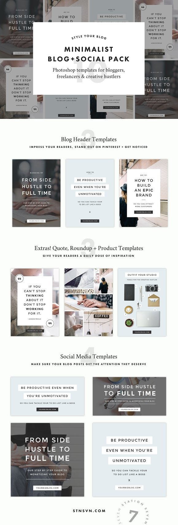 Instagram layouts beautiful templates to design your own for How to create your own blog template