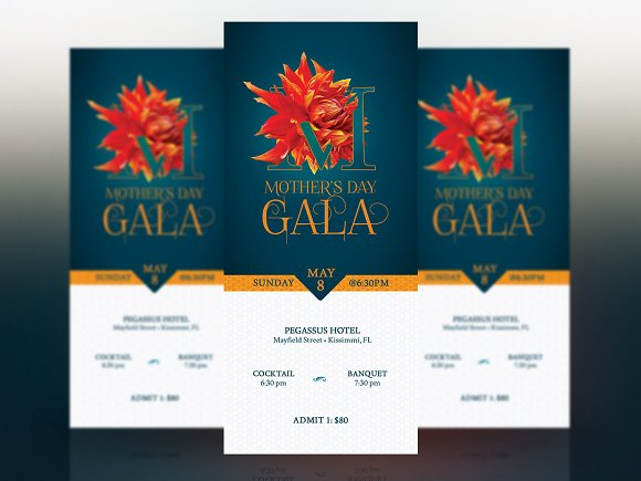 Mothers day banquet ticket template templates creative market mothers day banquet ticket template templates pronofoot35fo Choice Image