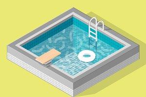 Isometric pool