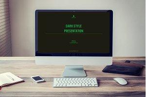 Dark Style Presentation