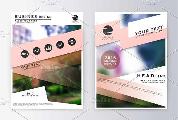 Report. Business report - Product Mockups