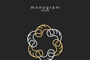 Emblem monogram
