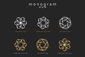 Elegant emblem design