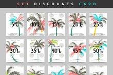 Set discount coupon