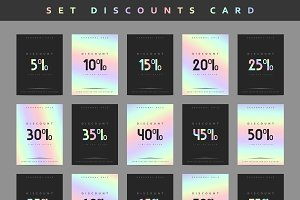 Set design discounts