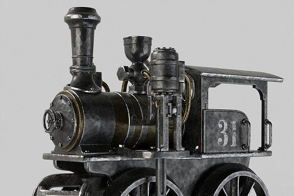 3D Vehicles: Izat Abdraimov - Toy train