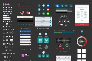 250+ Mobile Application Elements