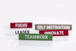 Business Strategy Leader Teamwork
