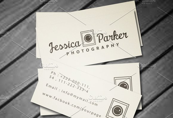 Mini Business Card Business Card Templates Creative Market - Mini business card template