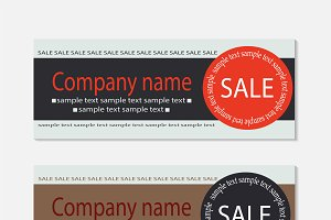 Sale voucher template