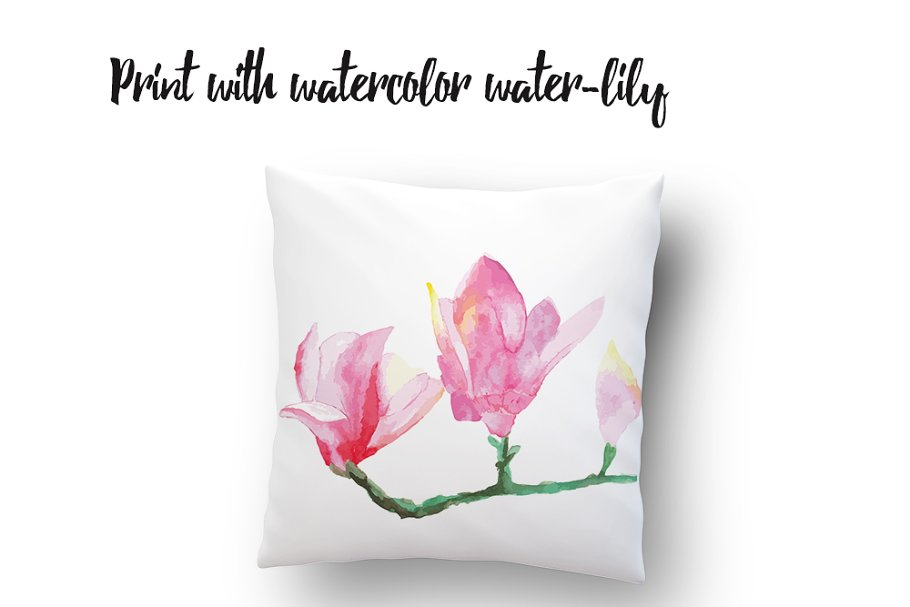 6 floral watercolor frames