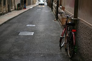Bicycle in Verona