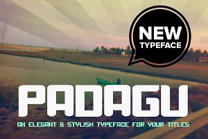 Padagu Typeface
