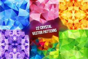 22 geometric abstract patterns
